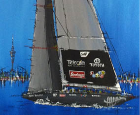 Art Commission: NZ cup 2011