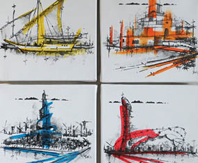 Doha Landmarks x4 collection 2015